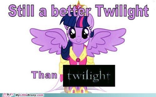 Twilight better than Twilight. Title is true... Misused.