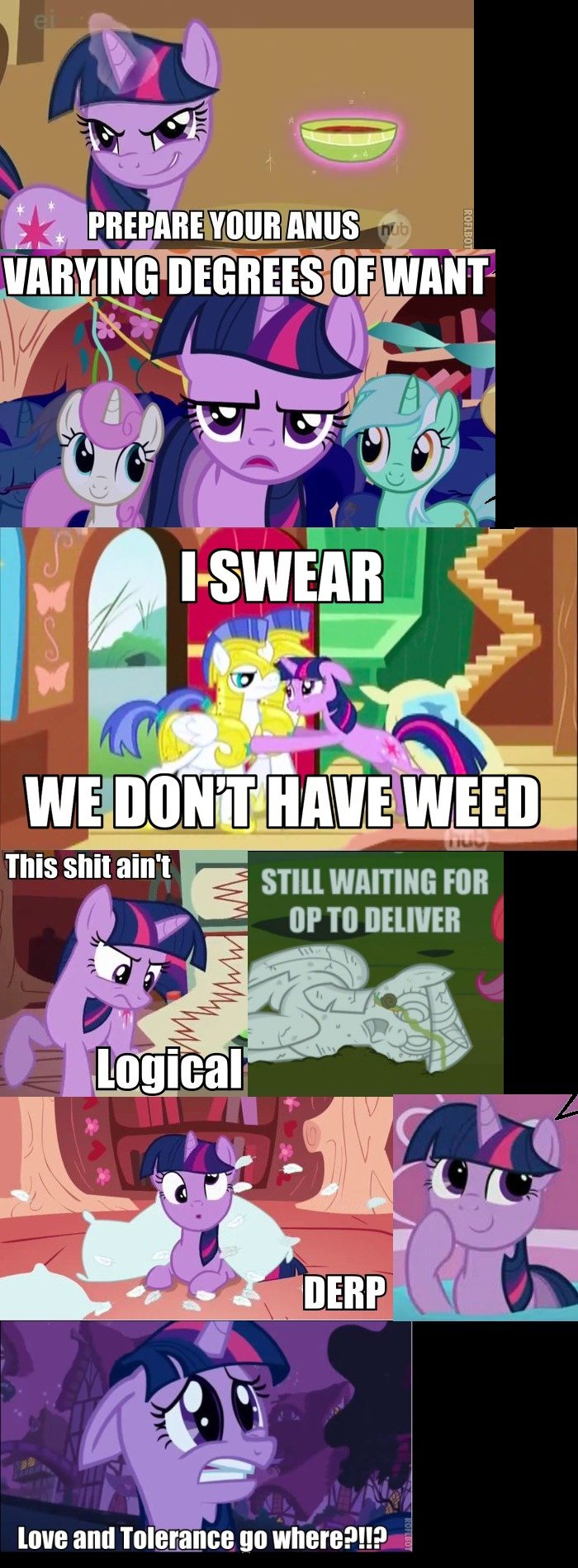 Twilight Comp. comment if you want more. Jun. Awesome! Unfortunately, I pretty much never use pony reaction pics. They always get toenail clippinged down. <This is for the next comp
