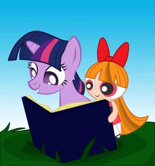 Twilight Sparkle and Blossom. These two in my mind have pretty similar characteristics.. Twi's just more well-rounded.