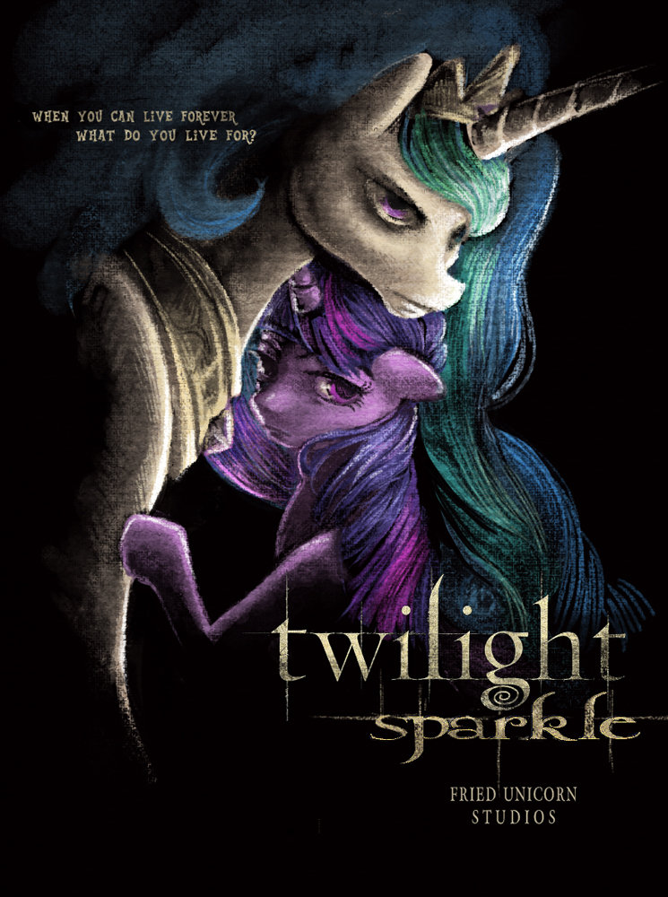 Twilight Sparkle. Credit to the internet. WHAT M 'NIH LWE Fot?. Really not a fan of the twillight books/movies but extremely well done either way pinkie for you :)