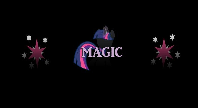 Twilight Sparkle Magic Wallpaper. As promised, here's my Twilight Sparkle wallpaper. As always, I love feedback, any ideas for improvement, etcetera. Enjoy! Nex