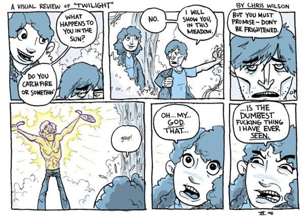twilight comic. .