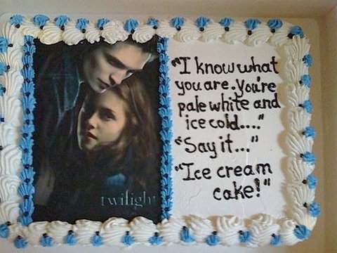 Twilight Cake. stumbled on it, of course.
