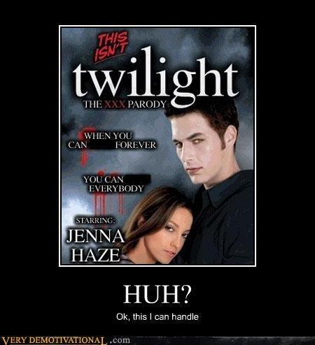 Twilight . . glat I' Alta 3133' J! CAN HUH? traps I can handle. lol i have it... xD