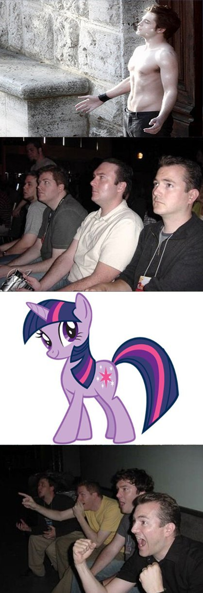 Twilight Sparkle. original content, but i uploaded it onto comixed before i uploaded it onto Funnyjunk. so it may seem as though it is not. but it is; trust me.