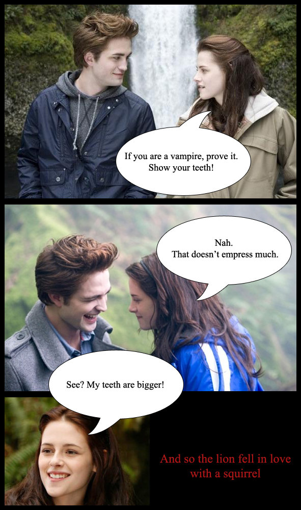 Twilight comics. not mine credit goes to elicAteLovelyMAdnes.