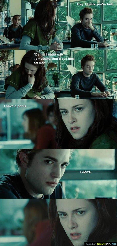 Twilight Fag. .. Retoast, that is semi crunchy