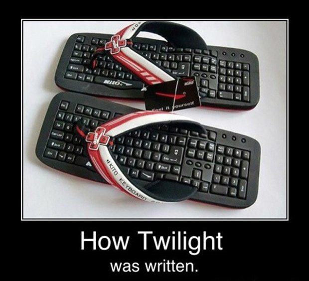 Twilight. . How Twilight was written.