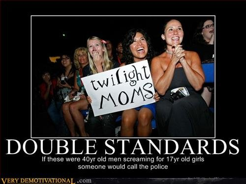 TWILIGHT DOUBLE STANDARDS!. If you like dont forget to press green button<br /> for more content, click Ddubber link ;). If ' -ease were oid men s r Jamma