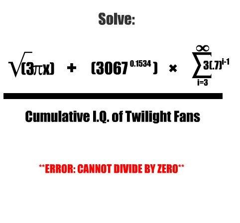 "Twilight Maths. . M. tta Fans BEBE IV mit"""
