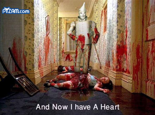 Twisted Tin Man. . And Now I have A Heart. how morbid. i like it