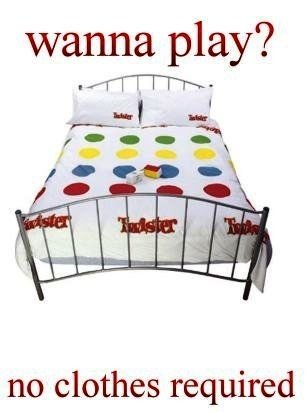 Twister. . wanna play? no clothes required