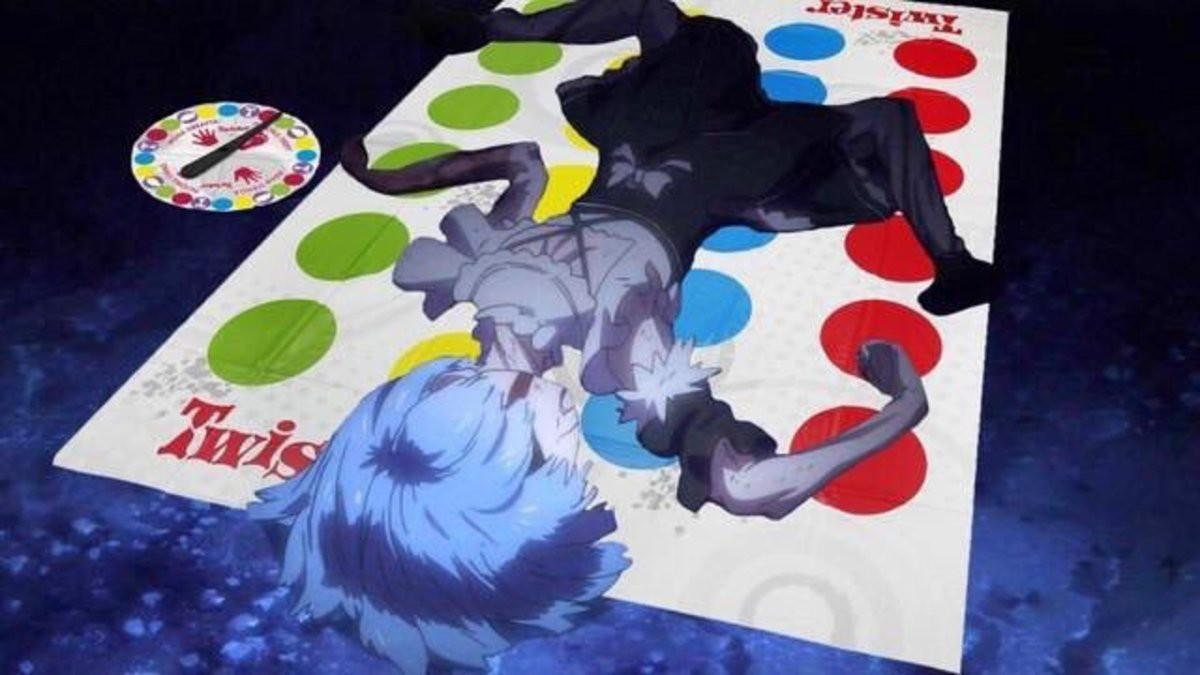 Twister. .. I have no idea what's going on but I'm going to assume that this is clever.