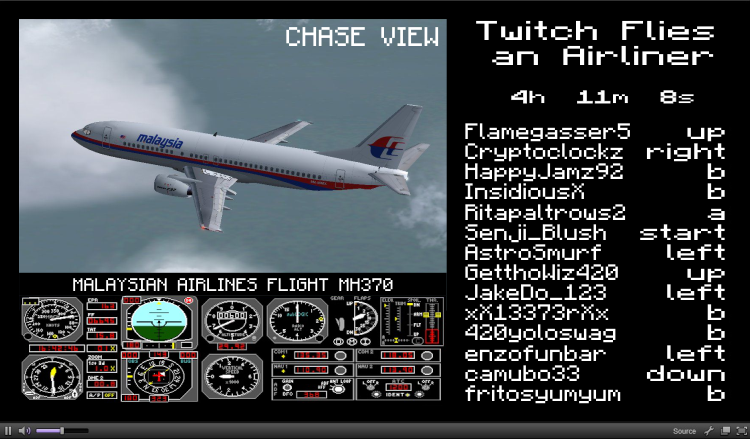 """Twitch Flies an Airliner. Based on what I've heard from the news thusfar... this is my latest theory.. Viral ELA- Twitch Flies: F"""" : zere LI tro z Fight irc', l"""