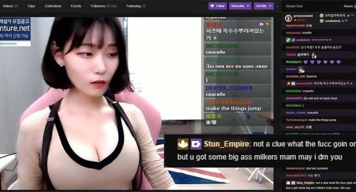 Twitch gentlemen. .. Lets be honest, a good part of it is Twitch's fault for promoting Thottery with boob streamers getting partnerships. It's like a city providing free meth and th