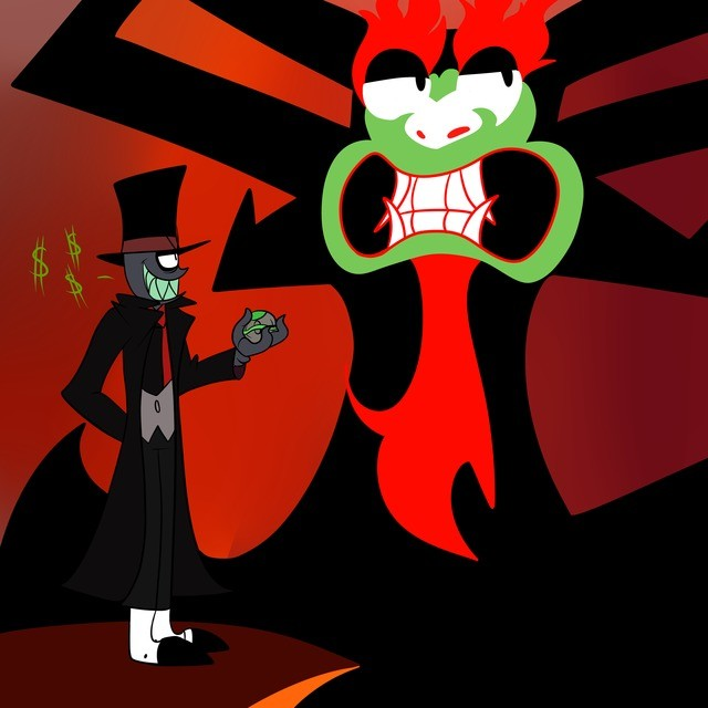 Two Evils. .. Oh my god that would be a perfect crossover