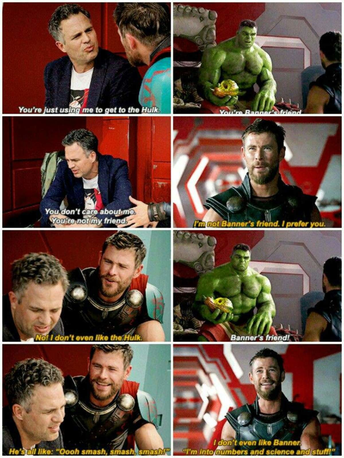 """Two faced. . I' m ruin nu. -':: erw and science and stuff!"""". Jokes on him, Thor likes both his sides!"""