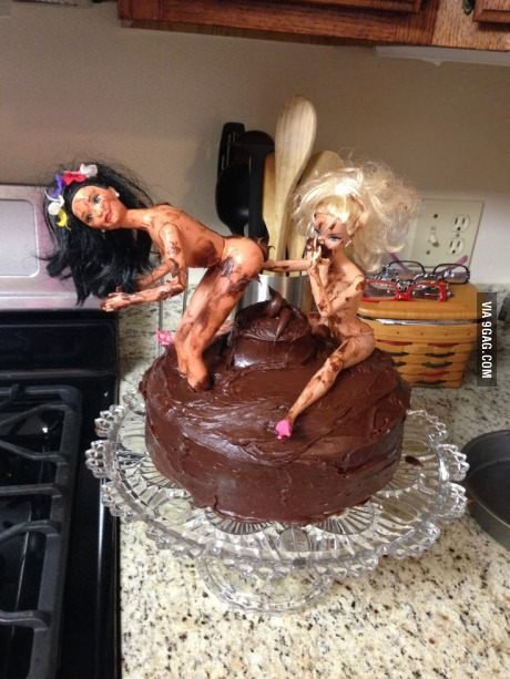 two girls one cake. .. This gets reposted so much and no one ever puts '2 girls 1 cupcake' in the title