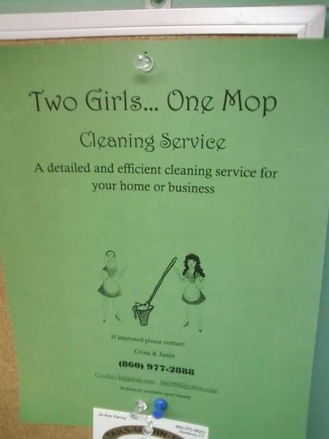 Two Girls One Mop. .