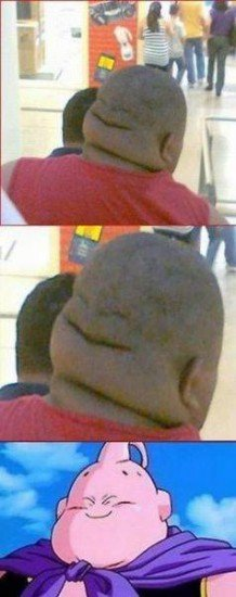 Two faced guy. .. Repost or not, that's still the happiest scalp I've ever seen.