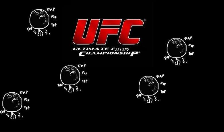 """UFC. """"stroke"""" of genius... I see what you did there"""