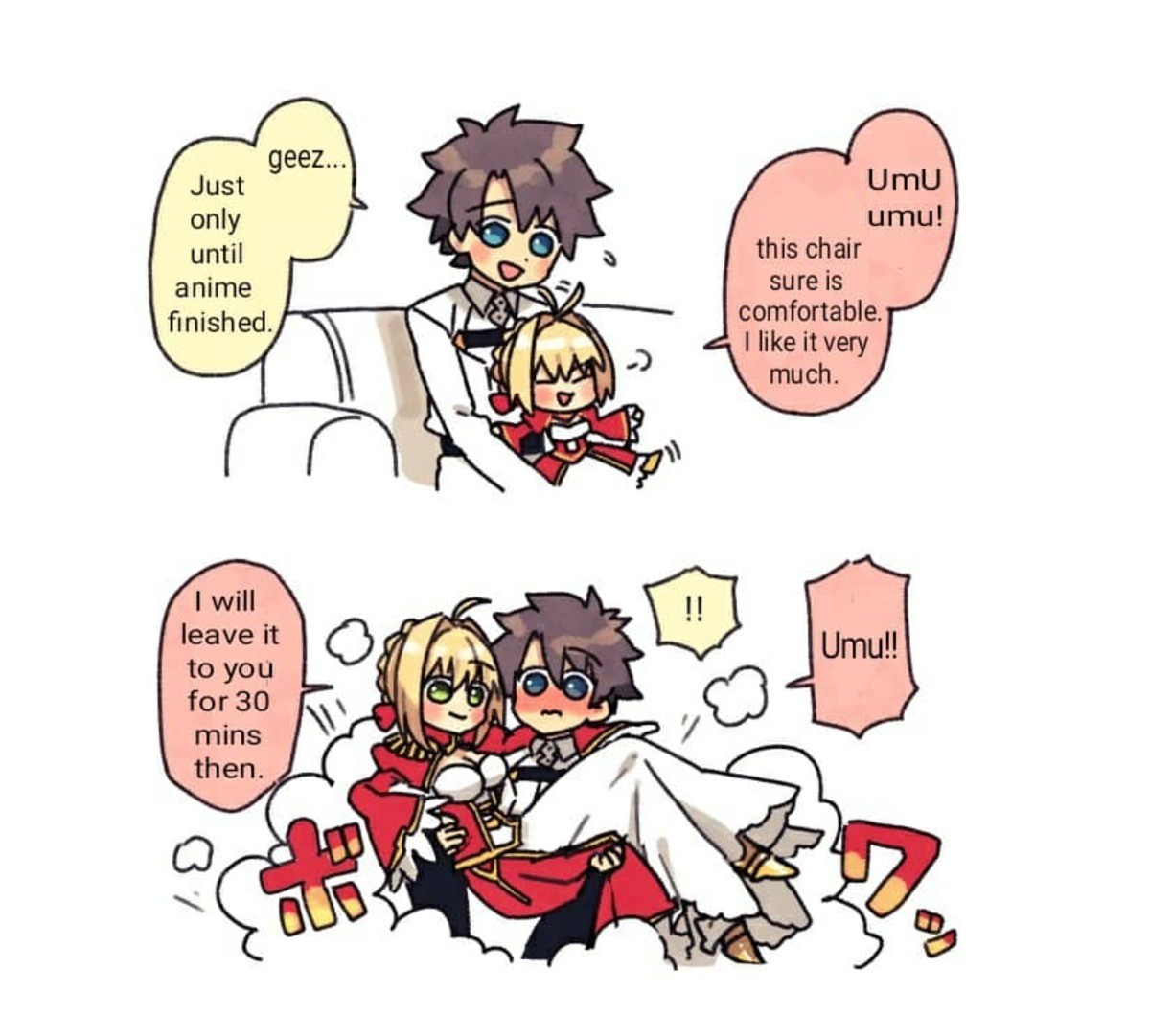 UMU and Mastah Watch Fate Extra. join list: Lewds4DHeart (1603 subs)Mention History join list:. UMU, Nero the cute and powerful