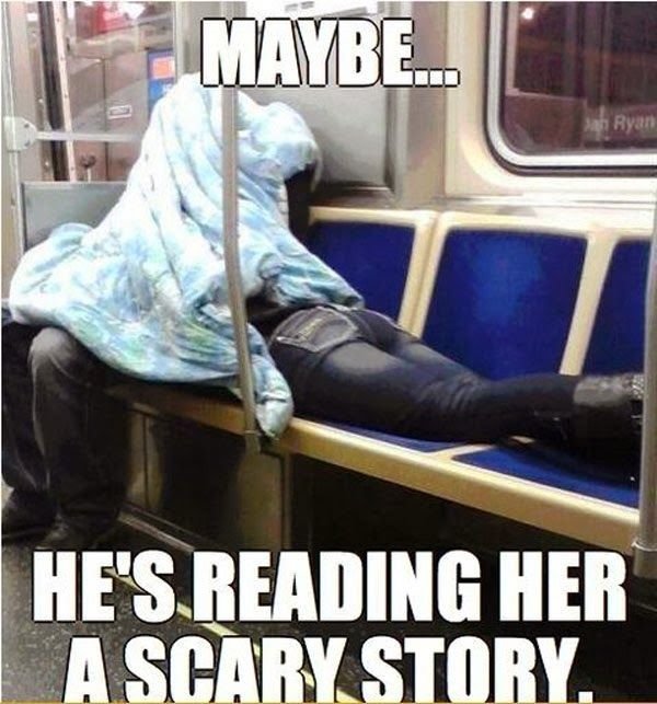 Undercover. .. well that's the best god damn story hes ever read