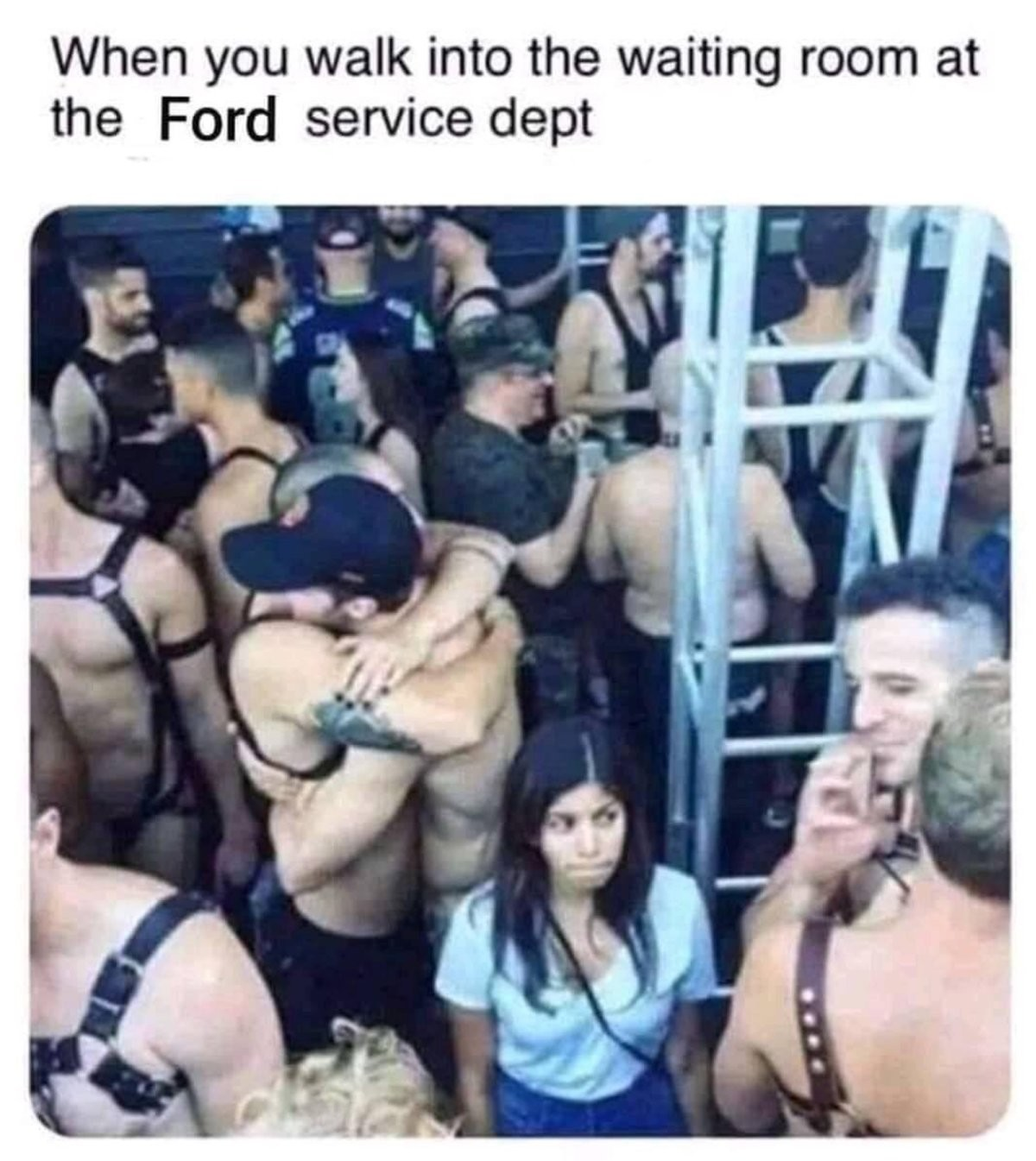uninvited dotted archer Octopus. .. Can confirm, am FordFag and it's literally like this everytime I need servicing