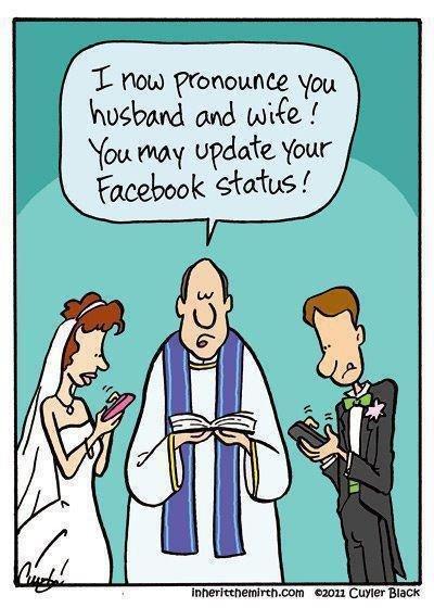 update your facebook status. . iar. carter