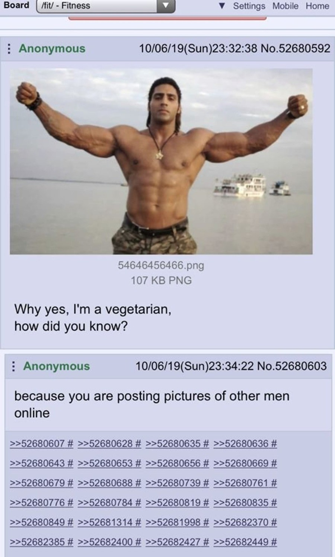 vegas 8. .. I'm not a vegetarian. I love meat!