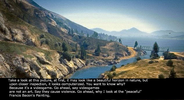 Violent, eh?. Does anyone even use the description box right?. Take a look at this picture, at Irst, it may look like a beautiful horizon in nature, but upon cl