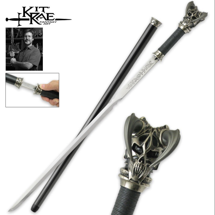 Vorthelok Cane Sword. Why just have a fancy looking cane, when you can not only be dapper as , but also have an epic long sword at the same time. I have the dam