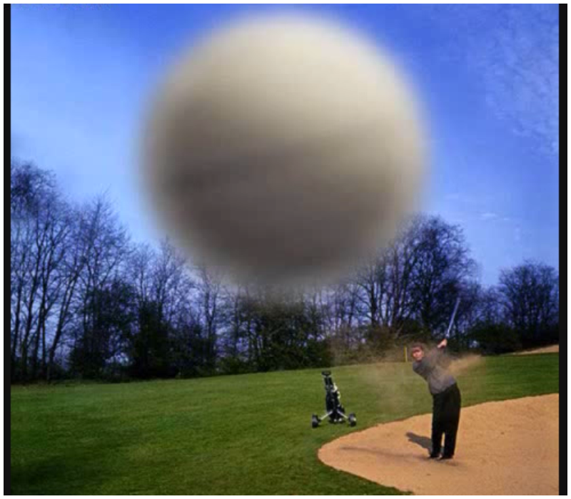 WAIT. .. If you are stupid enough to stand DIRECTLY in front of this guy as he swings, you deserve the pain.