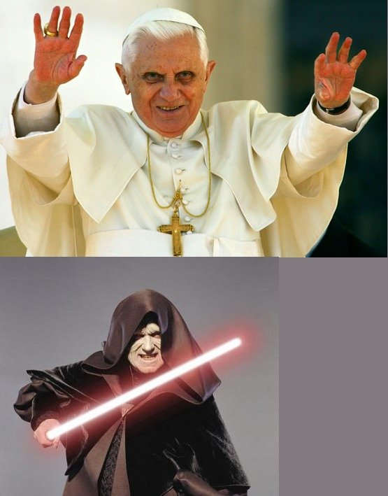 """We're ed. Religion = Darkside ? Top 150 and still going thanks guys ^^.. Well technically """"Jedi"""" is a religion."""