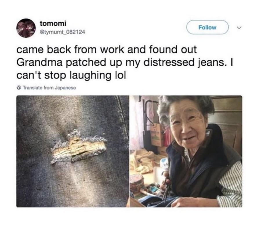 weakest Jackal. .. Even your grandma thinks you look like a trashy fool so she fixed them.