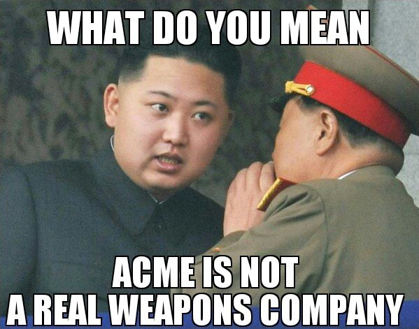Weapon. .. Says you buddy. My ACME blackhole instant paint is the best.