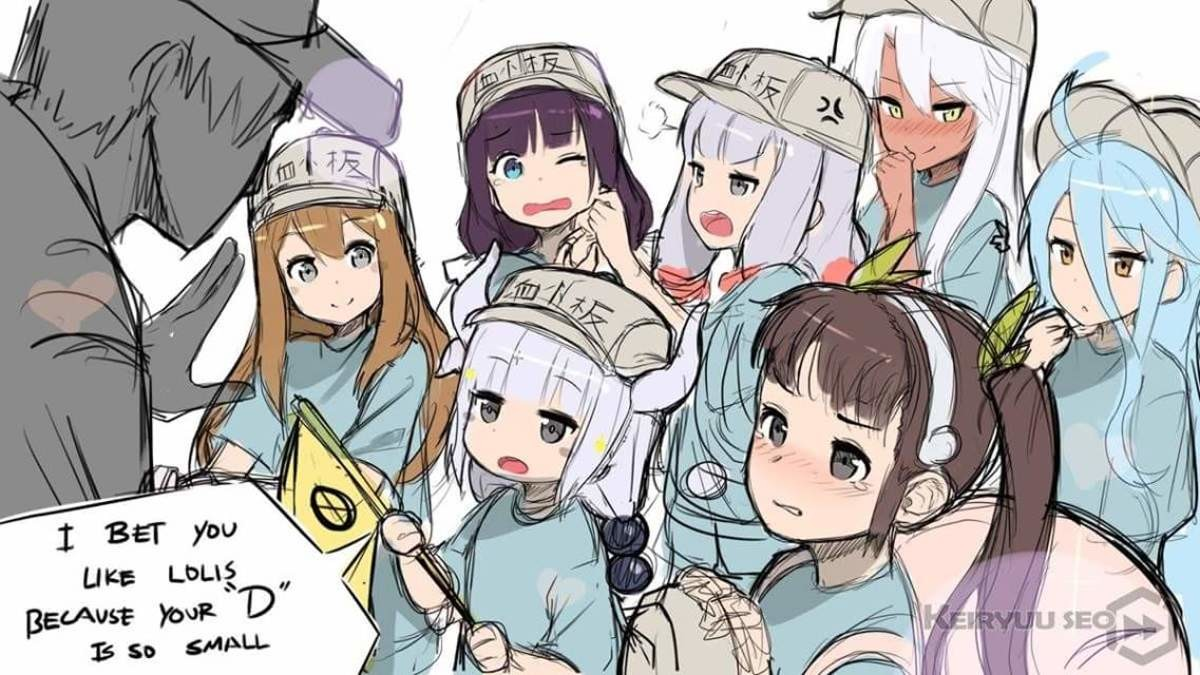 Well SmolHol?. join list: Lewds4DHeart (1609 subs)Mention History join list:. They're all fine. Kanna's a miniature hoe anyway. but don't you dare lewd the platelets. Those are toddlers