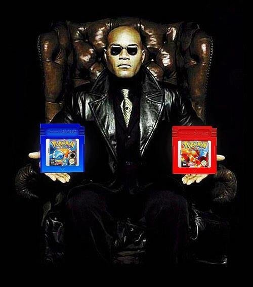 What if I told you, you need Both?. I know what you're thinking. I've been thinking it since I bought this game. Why, oh why, didn't I take the blue cartridge?.