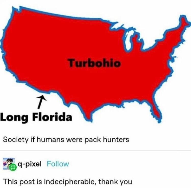 what. .. Long Florida doesn't even include all of normal Florida...