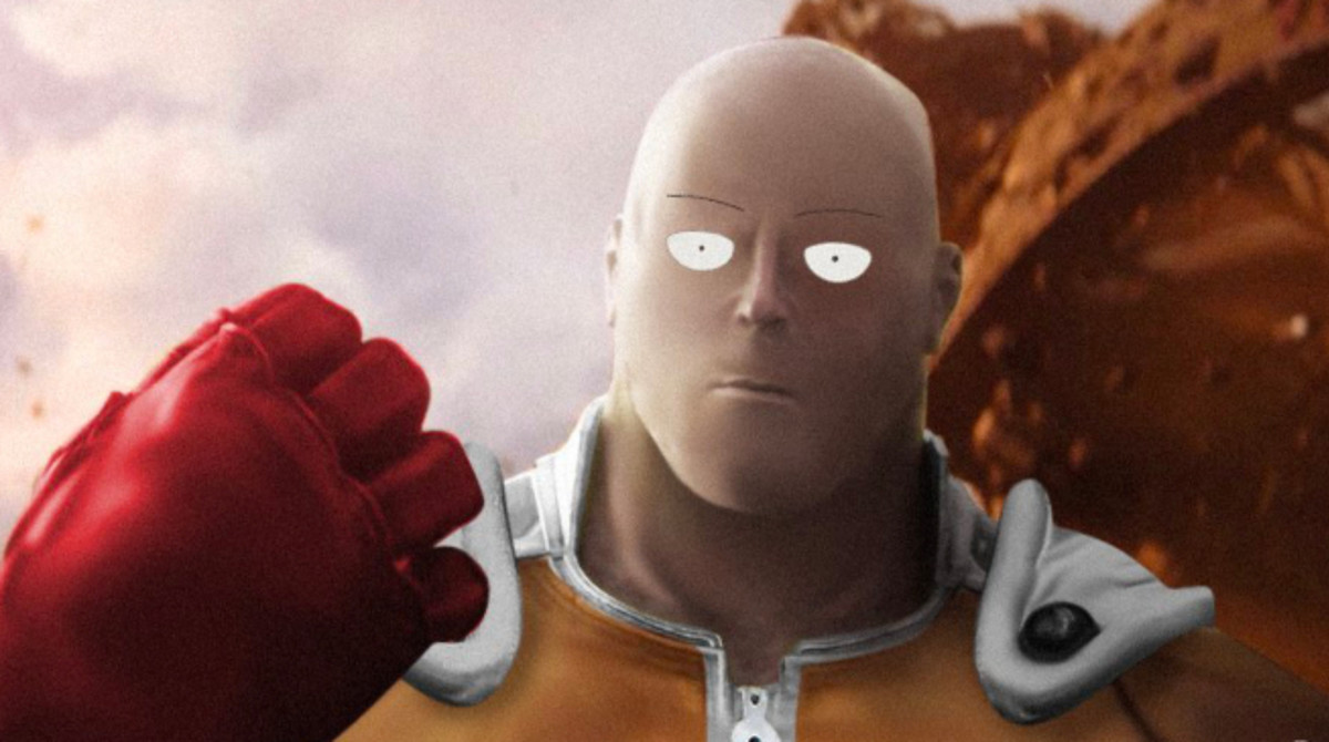 When Thanos beats you in one punch. .. By the way if anyone wanna argue who will win, there is no way to ever know.