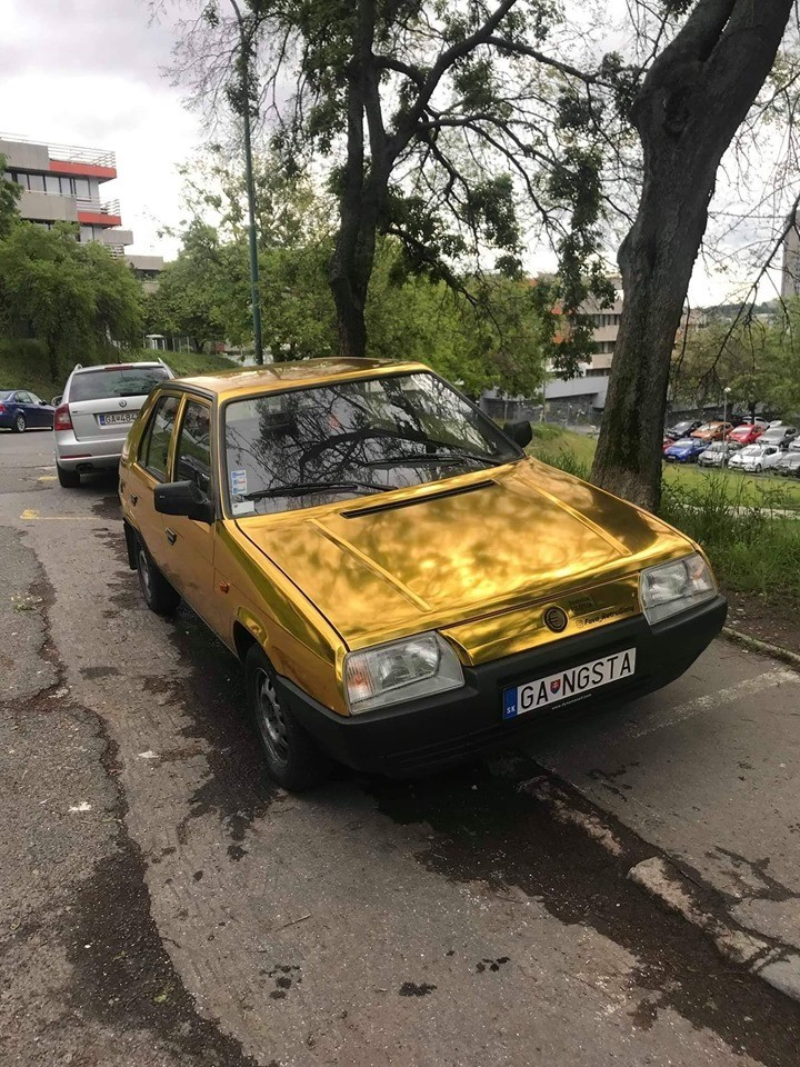 When you make it as a Slav. .. Well you can clearly see its his Favorit car