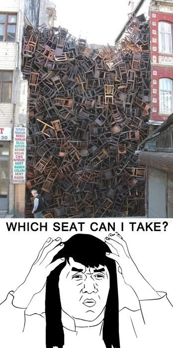 Which Seat?. More to come.. HIGH SEAT tirith, lilli, TAKE? Elk,