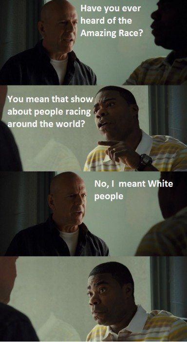 White people. .