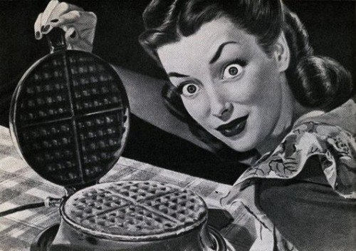 Who wants psycho waffles ?. .. HEY YOU KIDS WANT SOME WAFFLES?