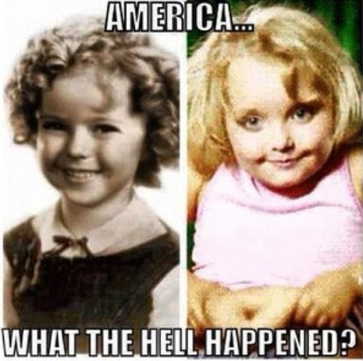 why? america?. i'll both.. Yes, because pretty much everyone admire Honey Boo Boo. Could you please dull your edge?