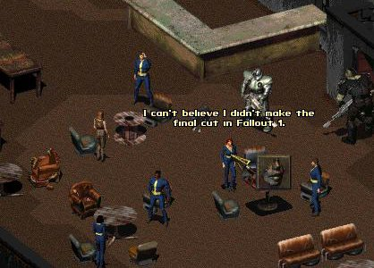 Why do we never post the originals?. I've only every seen Fallout 3 or New Vegas on this channel.. new lil 1: 131 ' believe I T. The final cur In .. Fallout 2 is best fallout