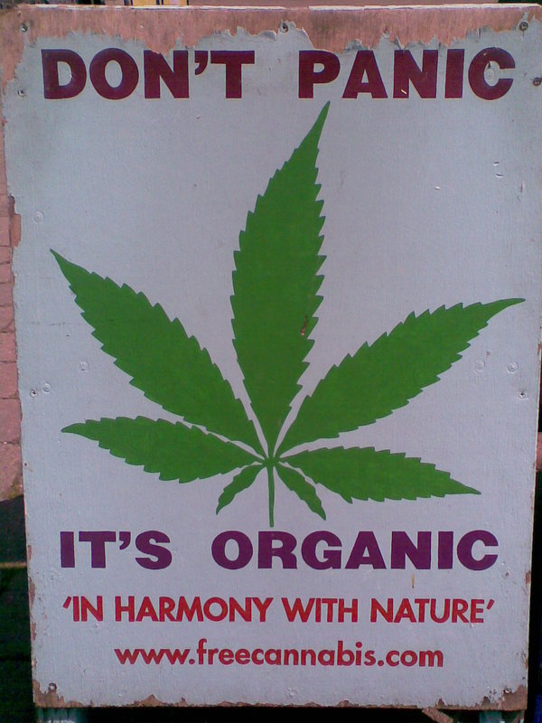 Why is cannabis (weed) illegal?. Best presentation about facts on cannabis: . Bl HARMONY WITH NATURE'. This is why I love living in Washington state, keep it green, keep it clean. I can't justify that cannabis isn't bad for you, but I can say the fact that alcoho