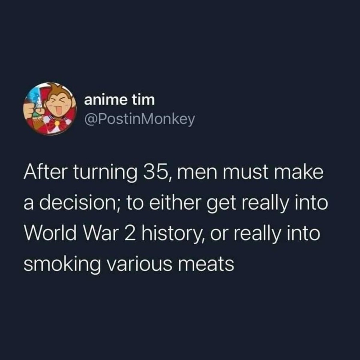 Why not both. .. tough one, on one hand i really like meat, but on the other i really like hitler too
