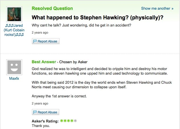 why steven hawking was injured. it seems plausable. OC. Found it when searching the steven hawking accident.. Kurt Certain lolp Maxie: Resolved Causation Shaw m