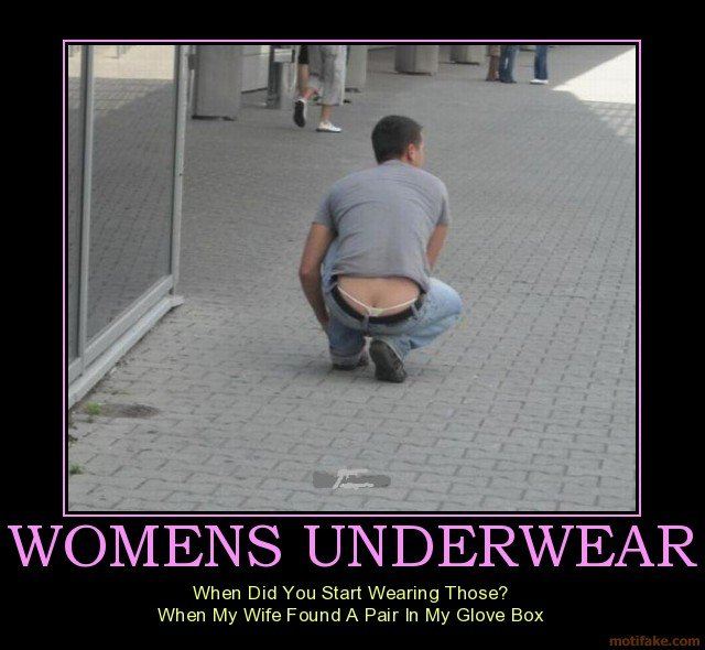 Women's underwear!. . i] UNDERWEAR when Did You Start Wearing Theme? when My Wife Pair In My Elma Em:. Good googily woogily!! What has been seen cannot be unseen!!